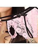 halpa Pikkuhousut-Naisten Normaali Ohut Ultra seksikkäät pikkuhousut, Jakardi - Elastinen Nylon 1 Punastuvan vaaleanpunainen