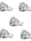זול טרנינגים וקפוצ'ונים לגברים-5pcs 7W 500lm E14 GU10 E26 / E27 תאורת ספוט לד 5 LED חרוזים לד בכוח גבוה דקורטיבי אור LED לבן חם לבן קר 85-265V
