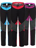 זול טישרטים לגופיות לגברים-בגדי ריקוד נשים מכנסיים לטיולי הליכה חיצוני עמיד למים, מוגן מגשם, שמור על חום הגוף חורף צמר, שכבה חיצונית רכה מכנסיים סקי / מחנאות