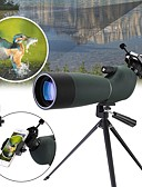 cheap Sport Watches-20-60 X 60 mm Binoculars Zoomable / Spotting Scope Mineral Green Camping / Hiking / Caving / Traveling