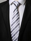 cheap Men's Ties & Bow Ties-Men's Work / Casual Necktie - Striped