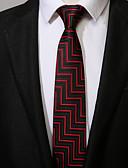 abordables Corbatas y Pajaritas para Hombre-Hombre Corbata - Trabajo / Casual A Rayas