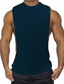 cheap Men's Tees & Tank Tops-Men's Street chic Tank Top - Solid Colored Round Neck