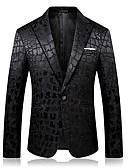 זול גברים-ג'קטים ומעילים-משובץ דש רשמי סגנון סיני עסקים מקרית בלייזר-בגדי ריקוד גברים,סרוג