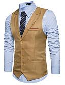 זול גברים-ג'קטים ומעילים-אחיד רזה וסט-בגדי ריקוד גברים,בסיסי