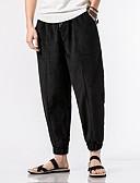זול מכנסיים ושורטים לגברים-מכנסיים אחיד מכנסי טרנינג סגנון סיני בגדי ריקוד גברים