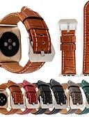 cheap Cocktail Dresses-Watch Band for Apple Watch Series 4/3/2/1 Apple Leather Loop Genuine Leather Wrist Strap