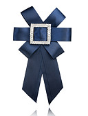 cheap Fashion Belts-Women's Brooches - Bowknot European, Fashion Brooch Red / Blue / Royal Blue For Ceremony / Formal