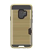 halpa Puhelimen kuoret-Etui Käyttötarkoitus Samsung Galaxy S9 / S9 Plus / S8 Plus Korttikotelo Takakuori Yhtenäinen Kova Kumi