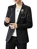 cheap Men's Jackets & Coats-Men's Active Blazer-Print / Please choose one size larger according to your normal size. / Long Sleeve