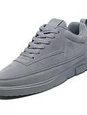 abordables Pantalones y Shorts de Hombre-Hombre PU Primavera / Invierno Confort Zapatillas de deporte Negro / Gris / Caqui