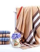 זול תחתוני גברים אקזוטיים-איכות מעולה מגבת אמבטיה / סט מגבות אמבטיה, משובץ 100% כותנה חדר אמבטיה 2 pcs