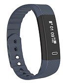 baratos Smartwatches-Relógio inteligente Pulseira inteligente YY-q15 para Android iOS Bluetooth Calorias Queimadas Pedômetros Controle de APP Podômetro Aviso de Chamada Monitor de Atividade Monitor de Sono / NRF51822