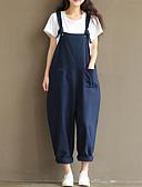 זול מכנסיים לנשים-בגדי ריקוד נשים כותנה בגד מכנסיים טלאים, אחיד / אביב / קיץ / ליציאה
