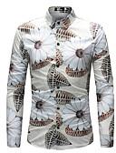 זול חולצות לגברים-פרחוני בוהו חולצה - בגדי ריקוד גברים