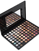 cheap Bikinis-88 Colors Eyeshadow / Eyeshadow Palette / Powders Matte / Shimmer / Glitter Shine / smoky Daily Makeup / Smokey Makeup 1160 Cosmetic