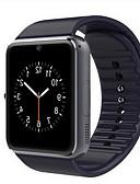 povoljno Muški satovi-Muškarci Žene Sportski sat Smart Satovi digitalni sat Koža Crna / Crvena Bluetooth Kalendar Svjetleći Šiljci za meso Ležerne prilike Kvadrat Moda - Crn Pink Crvena