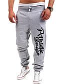 ieftine Pantaloni Bărbați si Pantaloni Scurți-Bărbați Activ Bumbac Drept Activ Pantaloni Sport Pantaloni Chinos Pantaloni Scrisă