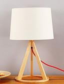 tanie Suknie i sukienki damskie-Prosty / Nowoczesny / współczesny Dekoracyjna Lampa stołowa Na Drewno / Bambus 220-240V