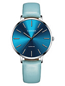 cheap Quartz Watches-CADISEN Women's Casual Watch Fashion Watch Japanese Quartz Black / Blue 30 m Water Resistant / Water Proof Casual Watch Analog Ladies Fashion Elegant - Black / Gray Navy / Blue Two Years Battery Life