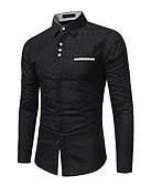 זול טישרטים לגופיות לגברים-עסקים מידות גדולות, חולצה - בגדי ריקוד גברים