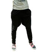 tanie Męskie spodnie i szorty-Męskie Sportowy / Aktywny Bawełna Luźna Haremki Spodnie Solidne kolory