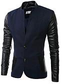 זול גברים-ג'קטים ומעילים-אחיד רגיל ג'קט-בגדי ריקוד גברים