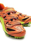 abordables Sets de Maillots Ciclistas y Shorts / Pantalones-Tiebao® Calzado para Mountain Bike Fibra de Carbono A prueba de resbalones, Listo para vestir, Transpirabilidad Ciclismo Naranja Hombre