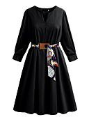 tanie Sukienki-Damskie Puszysta Szczupła Spodnie - Solidne kolory Czarny / Wyjściowe