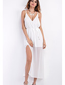cheap Women's Dresses-Women's Beach Sheath Dress - Solid Colored Lace Strap / Summer