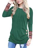 ieftine Tricou-Pentru femei Tricou Activ De Bază - Mată Imprimeu