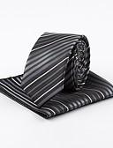 cheap Men's Ties & Bow Ties-Men's Vintage Work Necktie - Striped Jacquard