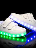 olcso Kislány ruhák-Fiú / Lány Cipő PU Nyár / Ősz Világító cipők Tornacipők LED mert Gyermek Fehér / Fekete