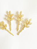 olcso Menyasszonyi fátyol-Csíptetők Haj kiegészítők Ragasztott paróka kiegészítők Női 4pcs db 1-4 hüvelyk cm Napi Archaikus Cuki