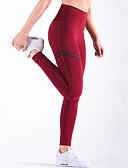 baratos Leggings para Mulheres-Mulheres Diário / Esportes Esportivo Legging - Estampa Colorida, Estampado Cintura Alta / Look Esportivo