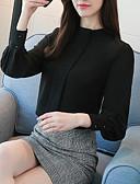 ieftine Cămașă-Pentru femei Stil Nautic - Mărime Plus Size Cămașă Muncă Șic Stradă - Mată / Primăvară / Vară