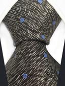 olcso Férfi nyakkendők és csokornyakkendők-Férfi Pöttyös / Kollázs / Jacquardszövet Party / Munkahelyi - Nyakkendő