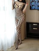 cheap Women's Nightwear-Women's Suits Nightwear - Mesh Split, Solid Colored Striped