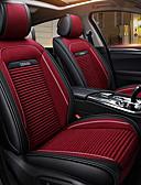 halpa Miesten poolopaidat-odeer-auton istuintyynyn istuinpeitteet auto-tarvikkeet tekstiili-pu nahka universaalille mustalle / punaiselle