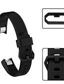 voordelige Smartwatch-banden-Horlogeband voor Fitbit Alta HR Fitbit Sportband Silicone Polsband