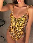 tanie Bikini i odzież kąpielowa 2017-Damskie Bandeau (opaska na biust) Bez ramiączek Bikini Solidne kolory Rzemień / Seksowny