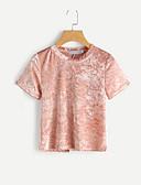 ieftine Tricou-Pentru femei Tricou Vintage-Mată