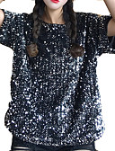 ieftine Tricou-Pentru femei Tricou Draguț - Geometric