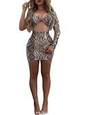 povoljno Ženski dvodijelni kostimi-Žene Osnovni Set - Geometrijski oblici Suknja