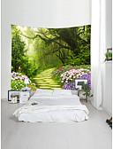 cheap Bikinis-Garden Theme Landscape Wall Decor 100% Polyester Classic Modern Wall Art, Wall Tapestries Decoration