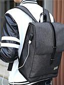 رخيصةأون ساعات رياضة-للرجال أكياس كنفا حقيبة ظهر أزرار أزرق / أسود