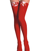 זול הלבשה תחתונה אופנתית-בגדי ריקוד נשים דק גרביים - קולור בלוק