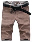 ieftine Pantaloni Bărbați si Pantaloni Scurți-Bărbați Simplu / Activ Pantaloni Scurți / Pantaloni Chinos Pantaloni Mată