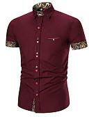 billige Herreskjorter-Skjorte Herre - Rutet Grunnleggende