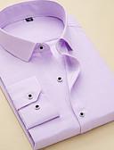 preiswerte Anzüge-Herrn Gestreift / Geometrisch - Grundlegend Hemd